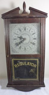 Vintage Le Gant 31 Day Regulator Mantle Parlor Mantel Clock Parts Repair Replace