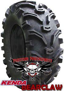"""26"""" Kenda Bear Claw Tire w 12"""" SS STI Wheels Mud Kit"""