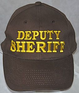 4877bdcd4b0cf Deputy Sheriff Cap Clothing