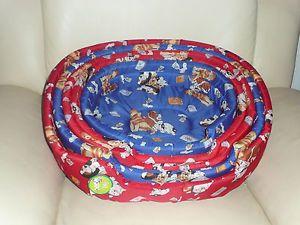 Pet Dog Puppy Cat Soft Bed Cozy Cage Pad Mat Travel Bed Mat Size XS s M L XL