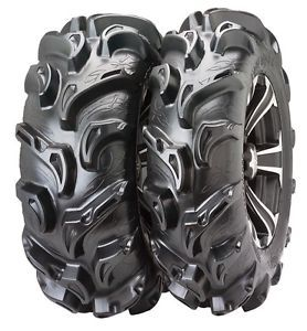 ITP Mega Mayhem 27 inch Mud Tire Set 4 Tires ATV UTV 27 9 12 and 27 11 12