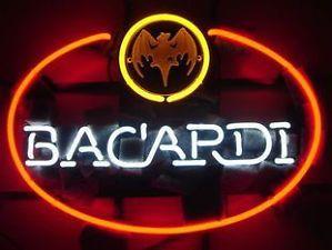 Bacardi Distillery Beer Bar Neon Light Sign ME308