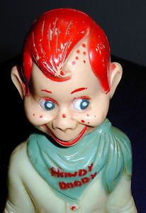 Vintage Howdy Doody Night Light Early 1950'S