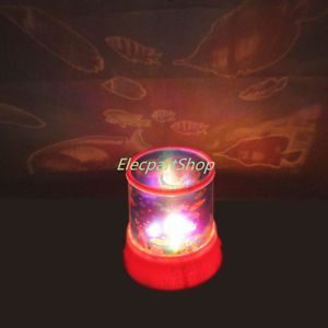 New Pink or Blue Ocean Fish Projector Lamp Night Light Fast Shipping from US