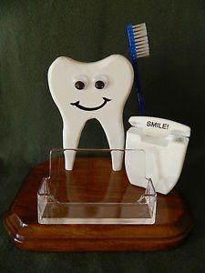 Dental Business Card Holder Dental Asst School Dentist Gift Office Supplies