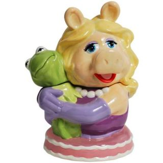 Westland Muppets Pig Miss Piggy Kermit The Frog Ceramic Cookie Jar