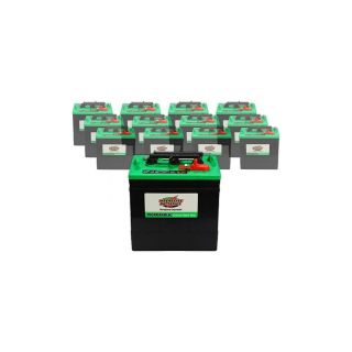 12 x 232AH 6V Wet Deep Cycle Battery Interstate GC2 XHD for Golf Carts
