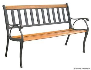 Astounding Outdoor Park Bench Gmtry Best Dining Table And Chair Ideas Images Gmtryco