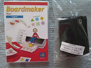 Boardmaker V 6 Mac Plus EXTRAS Pecs Autism ABA Behavior Teacher Special Ed