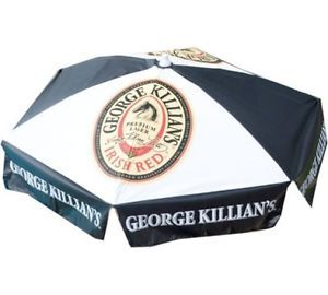 Killian's Beer Logo Patio Umbrella Picnic Table Outdoor Furniture