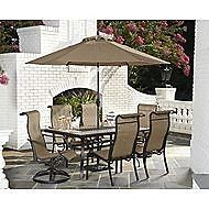 Jaclyn Smith Brookner 7pc Dining Set Patio Set Outdoor Furniture Patio Furniture