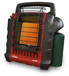 Mr Heater Portable Propane Heater Space Electric Fireplace Indoor Outdoor Hunt