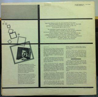 Stan Kenton Robert Graettinger City of Glass LP Mint w 736 Mono 1st 1955 Record