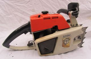 Vintage Stihl 041 Farm Boss Power Head 160 PSI Compression Real Strong Spark