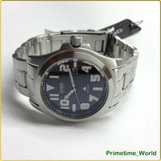 Citizen Eco Drive Gent Promaster Watch BM6401 58E Never Change A Battery
