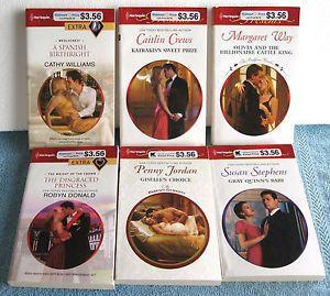 Lot of 24 Harlequin Presents Romance Paperback Books