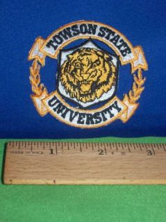 Townson State University Tigers NCAA College Logo Patch
