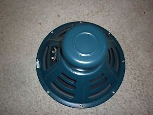 "Weber SIG12A Signature Alinco 12"" 8 Ohm 25 Watt Tweed Deluxe Speaker USA"