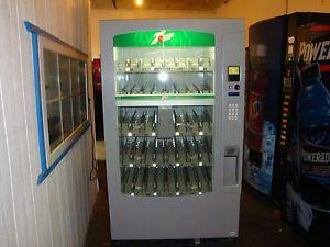 Vendo Vue 40 Glass Front Soda Vending Machine Pepsi Coke Refurbished