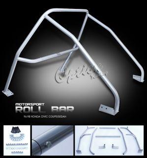 96 97 98 Honda Civic 2 4 Dr Roll Cage Bar DX EX LX 1996 Bar Interior Tube Kit