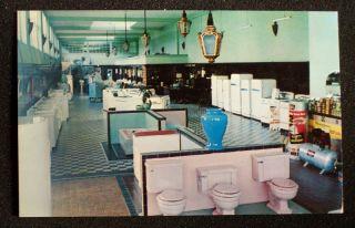 1950s Toilet Plumbing Lehigh Valley Supply Allentown PA