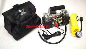 Rand 12V Air Compressor 2 Cylinder Car Auto Volt Portable 4x4 Off Road Inflator