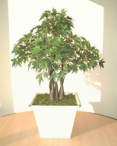 "Japanese Maple 18"" 46cm Artificial Replica Tree Imitation Faux Silk Plant"