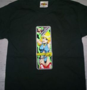 Vintage Hook UPS Manga Japanese Cartoon Skateboard Kill Bill T Shirt Sz S