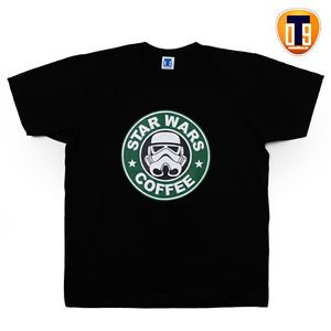 Funny Adult Humor Starbucks Logo PARODY Starwars T Shirts