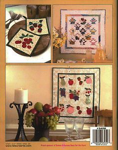 Applique Paper Piecing Quilt Collections Seasonal Pastels Quilting Pattern Book