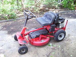 "Snapper Riding Lawn Mower 8HP Electric Start 25"" Cutting Deck Clean"