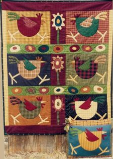 Meme's Quilts Spring Chickens Quilt Pattern