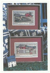 Country Quilts Counted Cross Stitch Pattern Linda Myers Designs