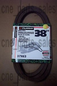 37x63 Murray Riding Mower Deck Blade Drive Belt 37x63
