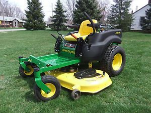 John Deere EZ Track Z425 Zero Turn Riding Mower 54in Deck 71hrs Great Mower Look