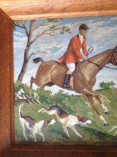 Hunt Scene Oil Painting