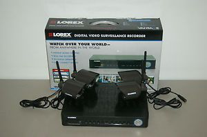 Lorex LH118501C4WB Wireless Security Camera System with 500GB DVR 4 Cameras