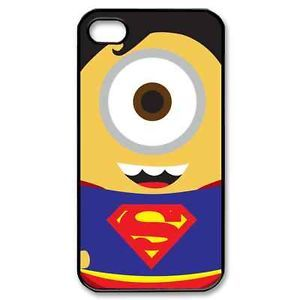 Minion Despicable Me Superman iPhone 4 4S Hard Plastic Case Cover ZDG30177