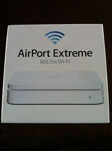 Apple Airport Extreme 5 Port Gigabit Wireless N Router MD031AM A