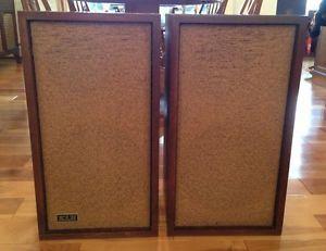 Vintage Pair of Large KLH Speakers Model 6 Original Working Condition