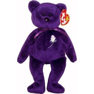 Princess Diana Beanie Baby Ultra RARE 1st Edition Pellets Mint Number
