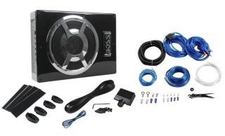 "Boss BASS800 800W Slim Under Seat 8"" Powered Amplified Car Subwoofer System 791489106498"