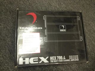 New Diamond Audio 700W RMS 4 Channel Class A B Hex Series Car Amp Amplifier