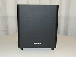 "Polk Audio Pswi 8M Powered Subwoofer 8"" Amplified Sub Bass Speaker Home Theater 0747192121440"
