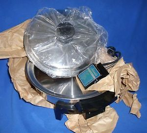 900W Mint Lifetime Electric Skillet Oil Core Fry Pan Westbend