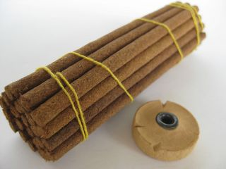 chandan dhoop Akanistha Sandalwood Incense ~ Premium sandal sticks
