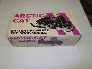 Normatt Arctic Cat Panther Motorized Model Box Snowmobile Toy Packaging