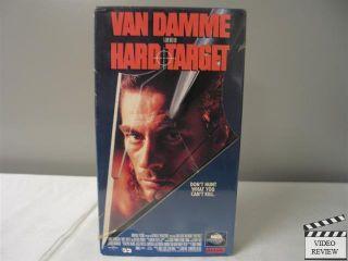 Hard Target VHS Jean Claude Van Damme Lance Henriksen Yancy Butler John Woo 096898157032