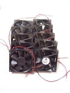 Wholesale Lot of 10 Delta 12V DC 8A 92mm x 92mm x 25mm Brushless Fan ASB0912L