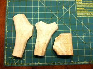 Naturally Shed Elk Antler Dog Chews 3X Deer Antlers Craft Handle Treats